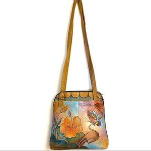 Anuscka Painted Leather Bag